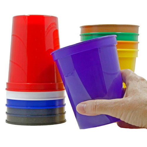 Plastic Party Cups - 10 pack