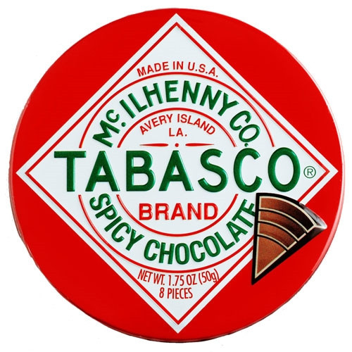 Tabasco Spicy Hot Chocolate Wedges