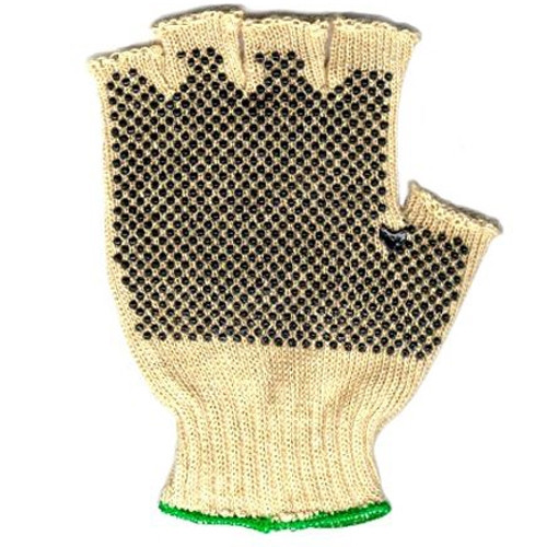 Hemp Fingerless Gripper Gloves