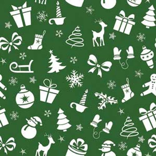 Holiday Fun Green Bandana