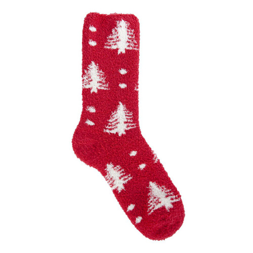 Tree Dot Holiday Crew Socks