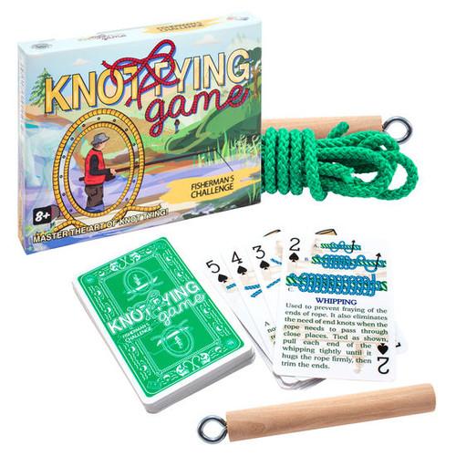 Fisherman's Knot Tying Challenge