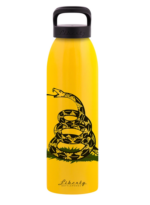 Gadsden Aluminum Water Bottle