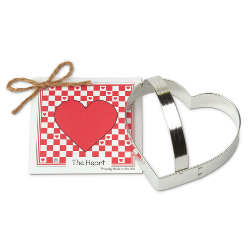 Heart Cookie Cutter With Tag
