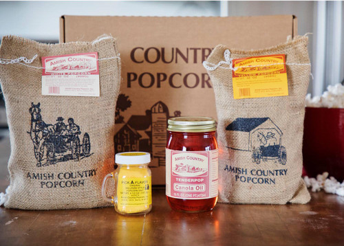 Amish Country Popcorn 4 lb Gift Box