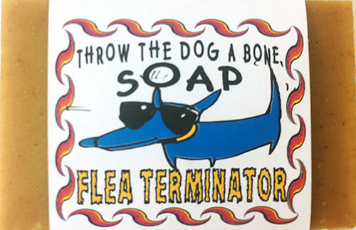 Throw the Dog a Bone Flea Terminator Soap