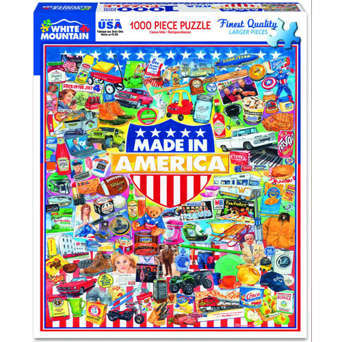 Made in America Jigsaw Puzzle - 1000 pieces