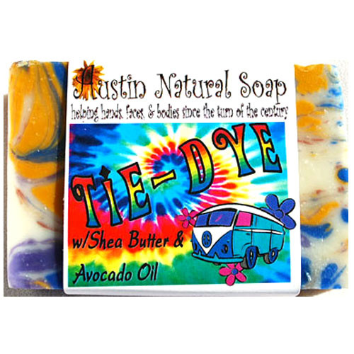 Tie-Dye Soap