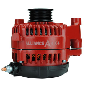 High Amperage Alternator for 2012-2018 JK/JL Jeep Wrangler 3.6L - Red