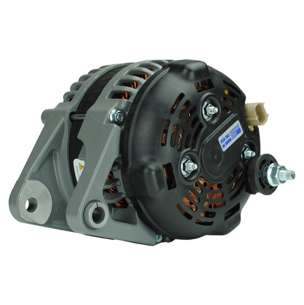 High Amperage Alternator for 1991-1998 XJ/YJ/TJ Jeep Wrangler 4.0L - GRAY *will also fit 1991-2002 (2.5L) & 1991-2001 XJ (All Engines)