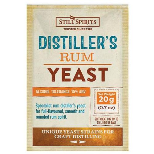 Distiller's Yeast Rum 20g | Free Shipping