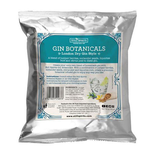 Gin Botanicals London Dry Gin Style | Free Shipping