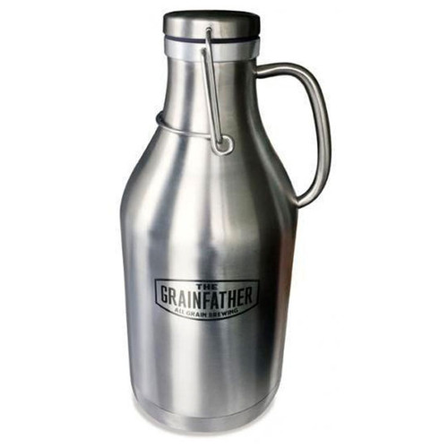 Stainless Steel Swing Top Growler 2L