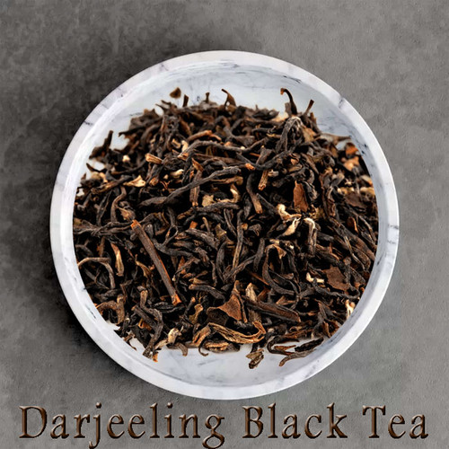 Darjeeling black tea certified organic