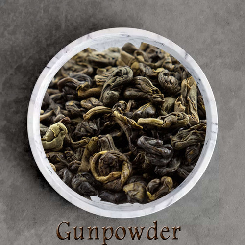 certified organic gunpowder green tea