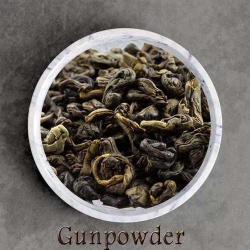 certified organic gunpowder green tea