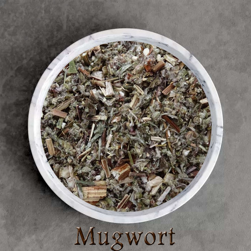 certified organic mugwort herbal tea