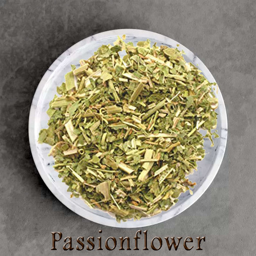 certified organic passionflower herbal tea