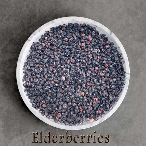 certified organic elderberries
