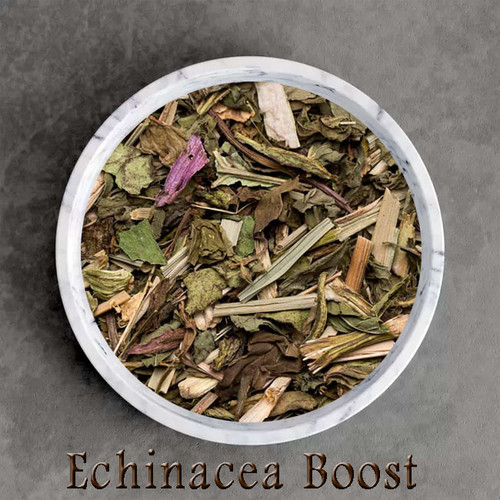 certified organic echinacea boost herbal tisane