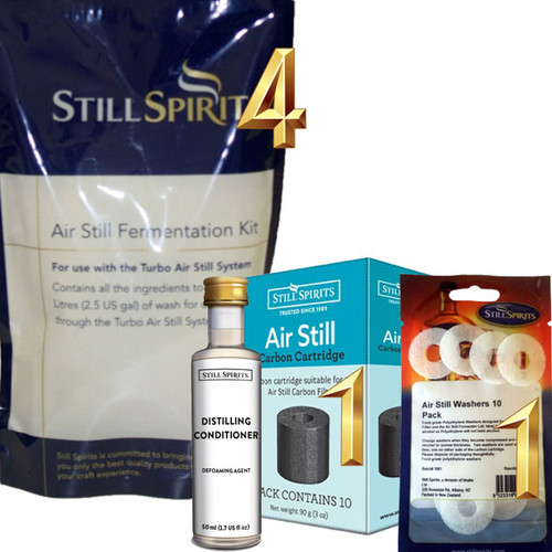 4 Pack Air Still Fermentation Kit
