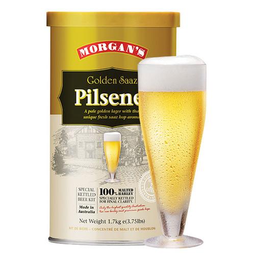 Morgan's Premium Golden Saaz Pilsener 1.7KG