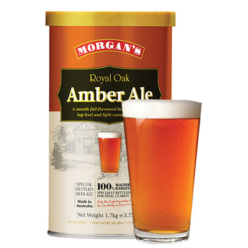 Morgan's Premium Royal Oak Amber Ale 1.7KG