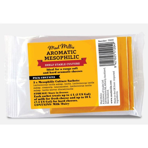 Aromatic Mesophilic Culture (5 Sachets)