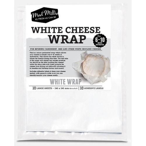 White Cheese Wrap 240 x 240 (10 Sheets)