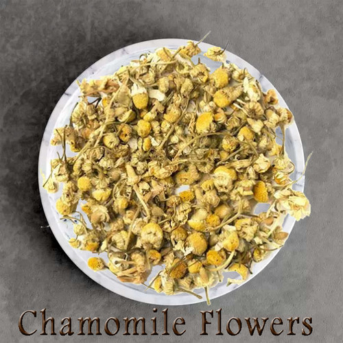 certified organic chamomile flower