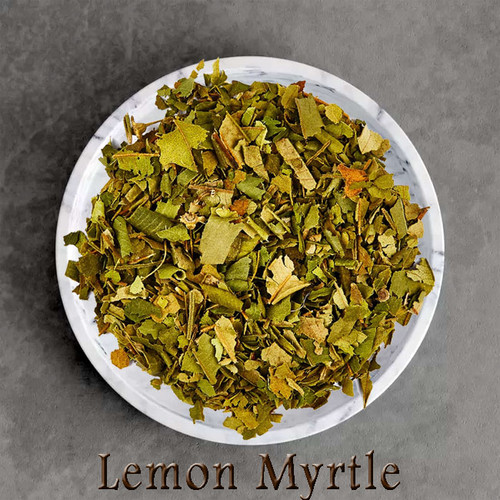 certified organic lemon myrtle tea