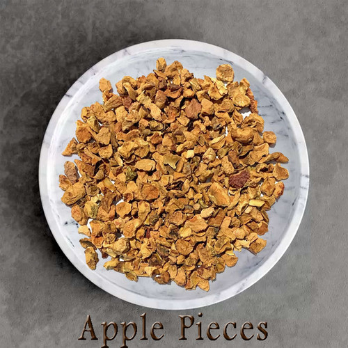 certified organic apple pieces