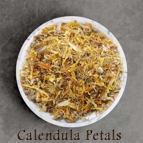 certified organic calendula petals