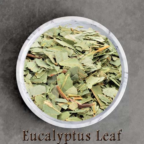 certified organic eucalyptus leaf
