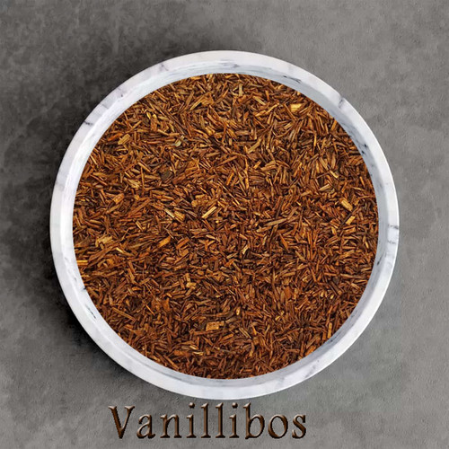 certified organic vanillibos herbal tea