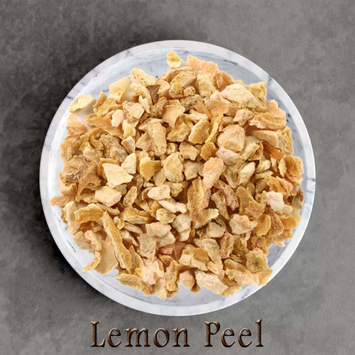 certified organic lemon peel
