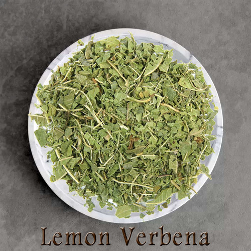 certified organic lemon verbena herbal tea