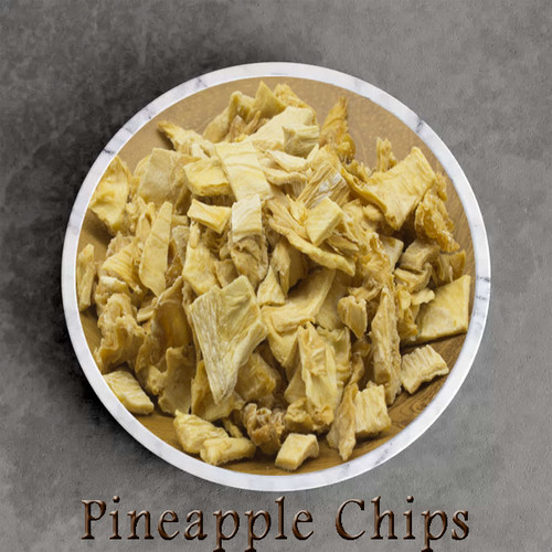 certified organic pinapple pieces