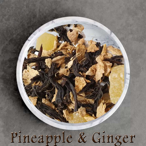 pineapple ginger earl grey- certified organic ingredients