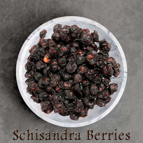 CERTIFIED ORGANIC SCHISANDRA BERRIES