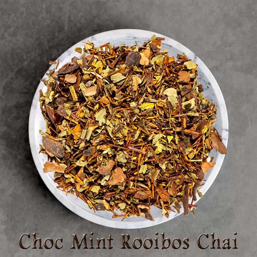 ORGANIC ROOIBOS CHOC MINT CHAI LOOSE-LEAF TEA
