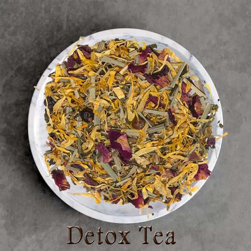 organic detox herbal blend