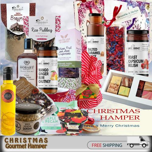 gluten free & vegan Christmas gift hamper