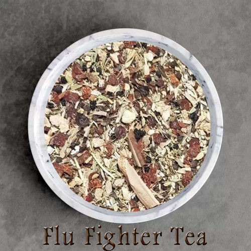 certified organic flu fighter herbal tea