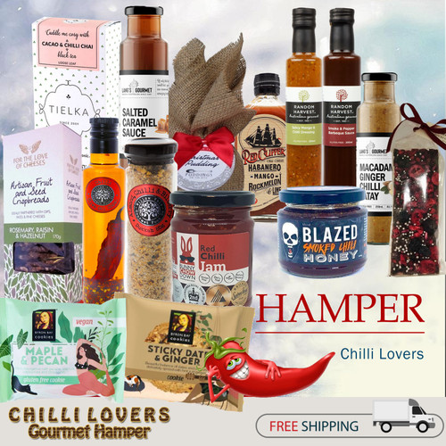 gourmet gift hamper chilli lovers artisan products