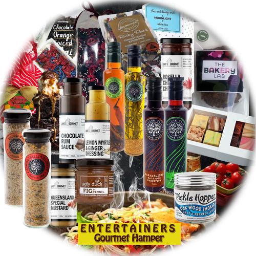 gourmet entertainer gift hamper