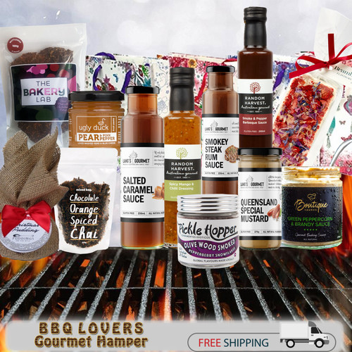 gourmet gift hamper BBQ lovers