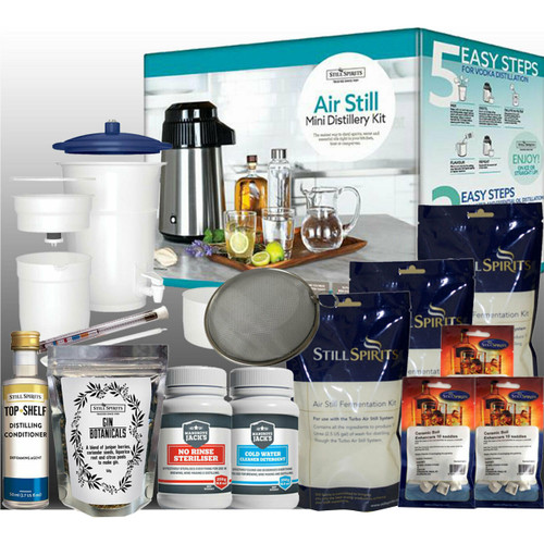 Air Still Mini Distillery + Gin Lovers Botanicals | Free Shipping