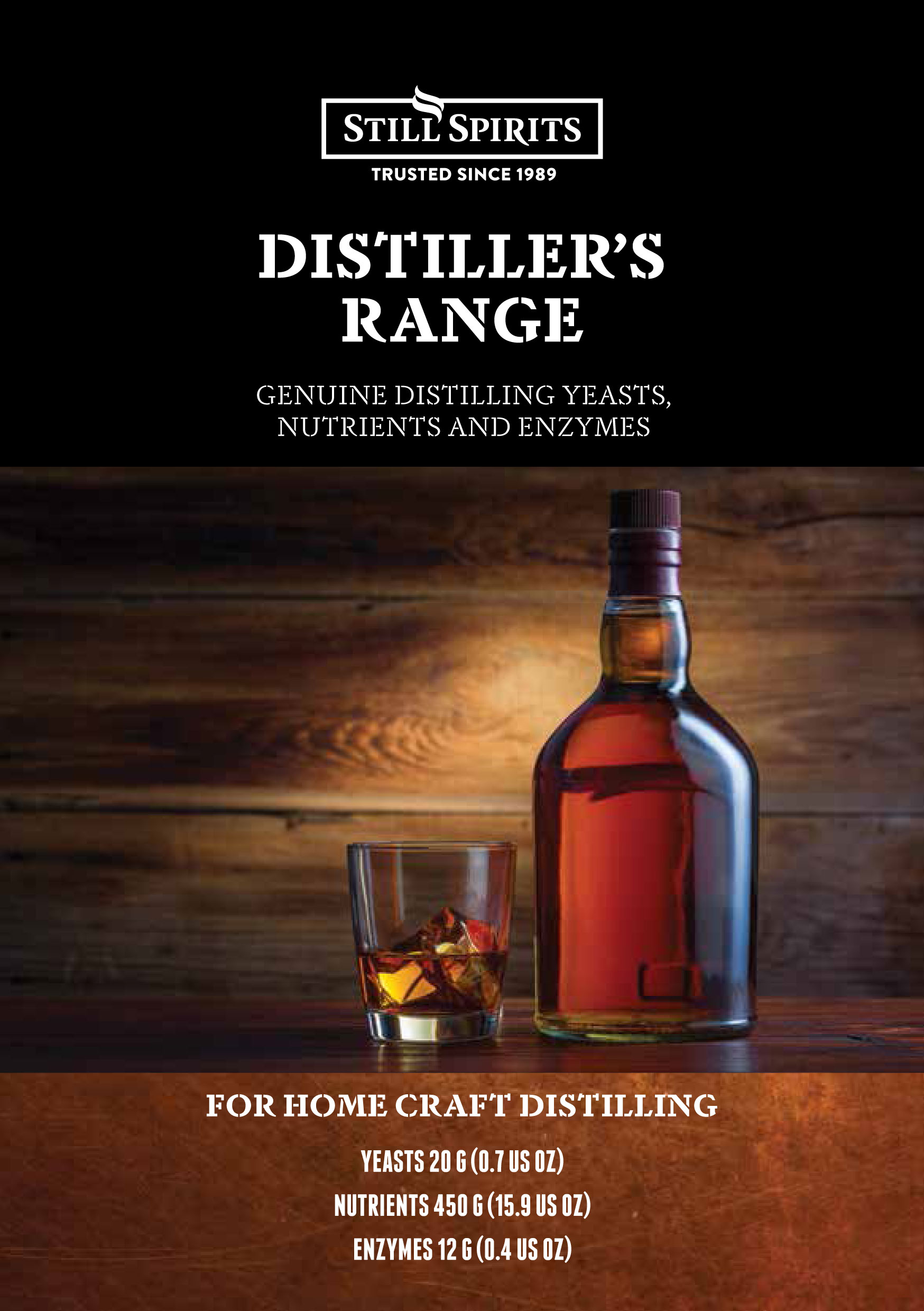 Distiller's Range Booklet