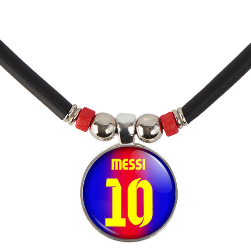 Lionel Messi #10 Barcelona Jersey Necklace
